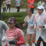 水戸黄門漫遊マラソン2017 雨 千波湖 2